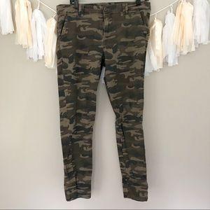 Sanctuary Camo Print  Army Skinny Jeans